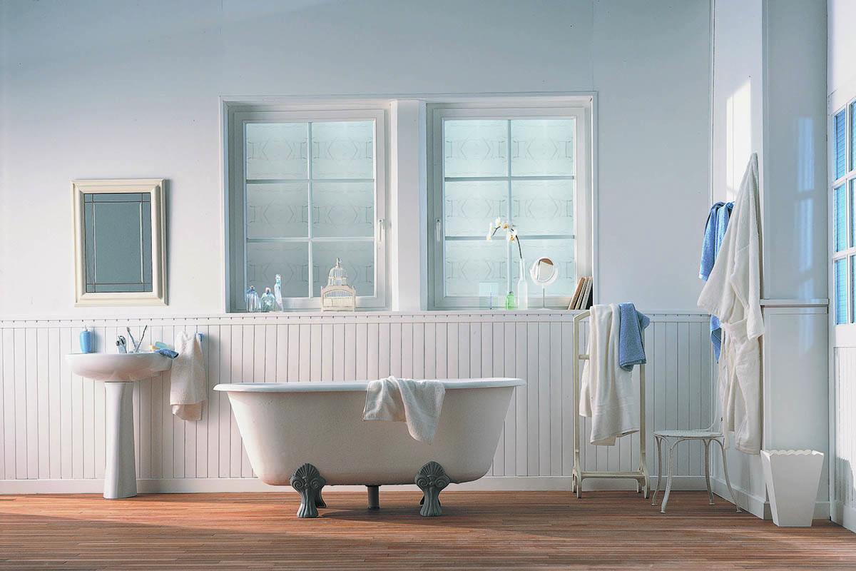 Les Réalisations De Mondial Menuiseries - Fenetre pvc pour salle de bain
