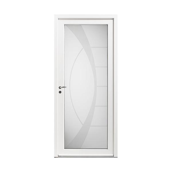 Fabrication vente et pose de porte d 39 entr e pvc bordeaux for Epaisseur porte d entree